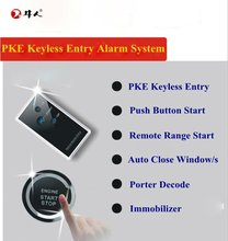 Advanced passive keyless entry car alarm remote start system for specified cars