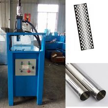 Best Selling hydraulic round steel pipe punching machine with lowest price