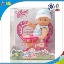 New product vinyl soft baby doll silicon new born 5 inch doll