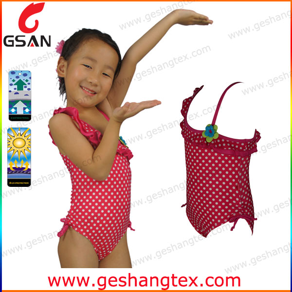 One pieces custom lovely children swimsuit models