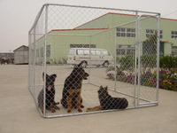 wire mesh fencing galvanized outdoor large dog kennel