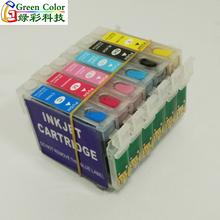 new technology compatible ink cartridge for epson Stylus Photo 1390/R330/T60