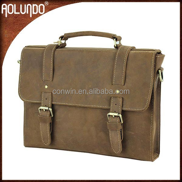 2017 New fashionable Shoulder bags for sales Pure leather hand bags for men leisure briefcase