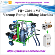 Small size automatic piston pum pused milking machine goat cow milking machine price HJ-CM011PS