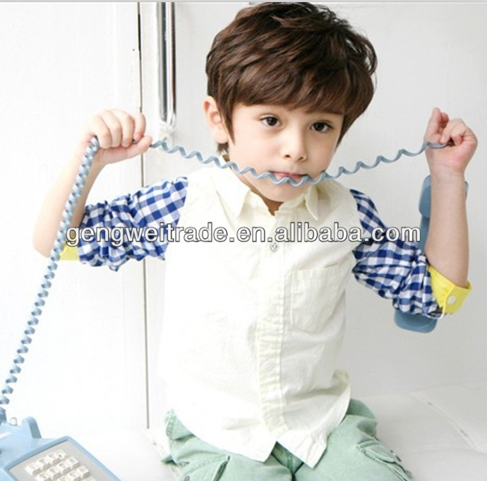 Lapel Handsome Kids Clothing New Arrival Long Sleeve Boy Shirts