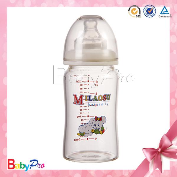 breast shaped baby bottle
