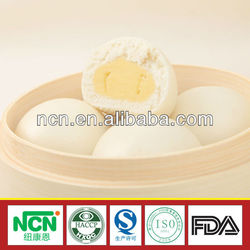 all halal food manufacturer steamed bun stuffed with creamy hot sell