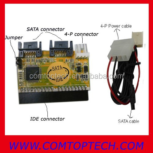 sata to ide adapter for laptop ide to sata male adapter, ide to sata adapter jm20330