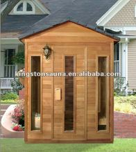 outdoor sauna room steam room OS2018 with sauna controller