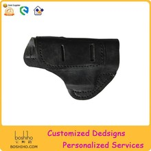 HOT sale Wholesale Customized genuine leather gun pouch