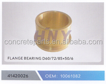 flanged bearing for schwing truck