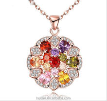 Wholesale big stone expensive fashion necklace alloy jewelry for stock