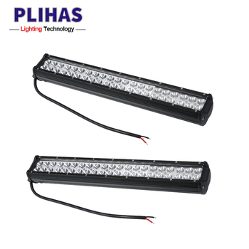 China waterproof 126w 50cm long double rows led light bar wholesale auto car led lamp light bars