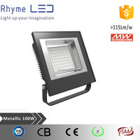 high quality 120degree 100w floodlight with Meanwell drive