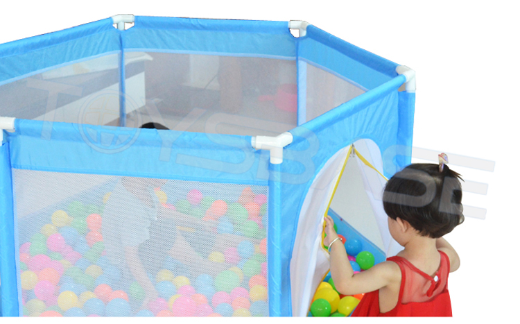 Hot Selling High Quality Baby Game Fence Folding Portable Baby Safety Fence