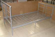 Cheap price metal single bed/iron bed for bed room furniture