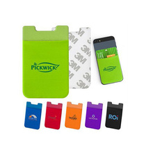 hit promotional products for cell phone credit card holder