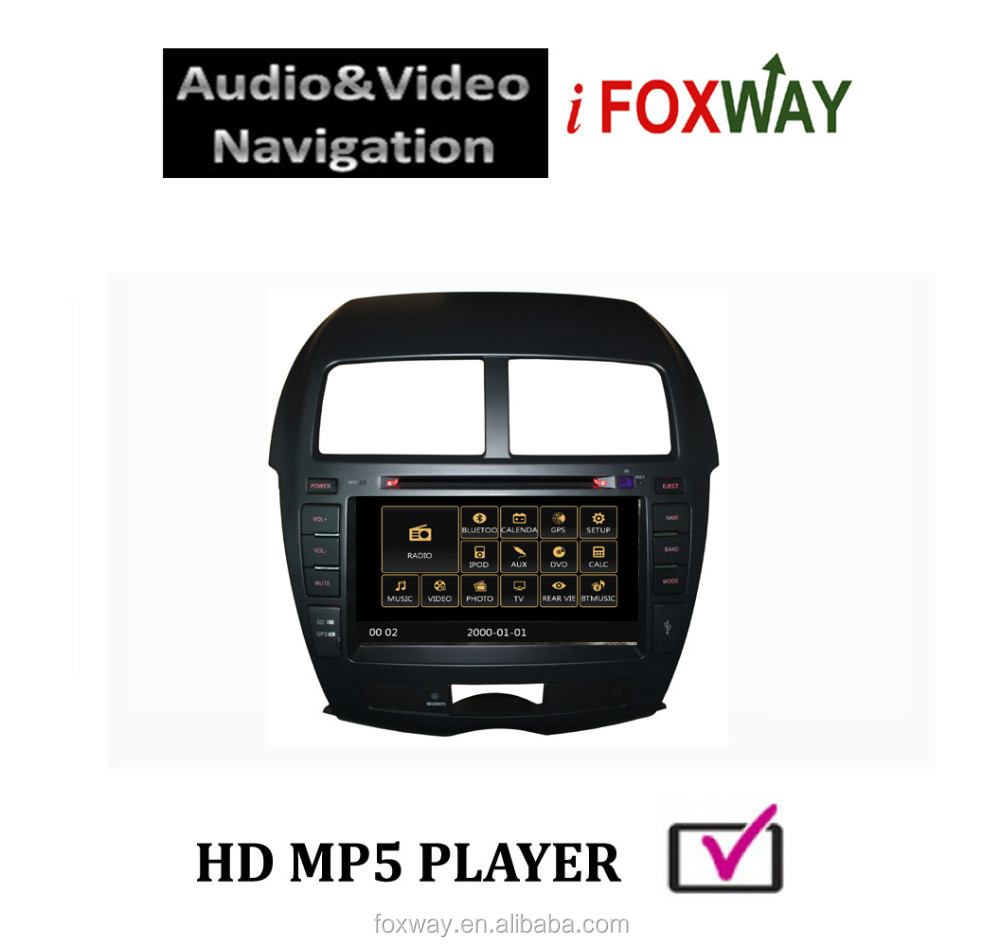 "Foxway 8"" Double din car radios with dvd gps multimedia player for Peugeot 4008"