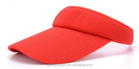 New Fashion plain cotton Ladies sports sun visor tennis golf sports cap