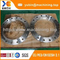 Standard forging aluminium weld neck flange from direct china supplier