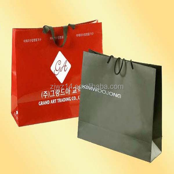 large paper bag/ customized kraft paper bag with your logo/ printing shopping bag