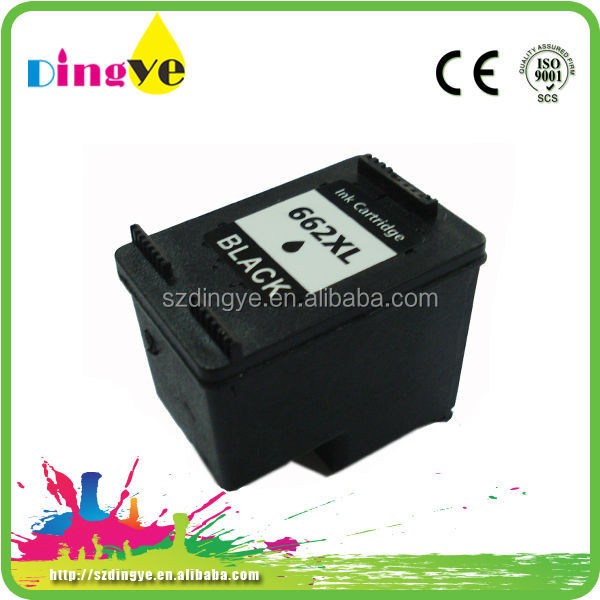 Chinese printer ink cartridge 662 XL for HP 2016