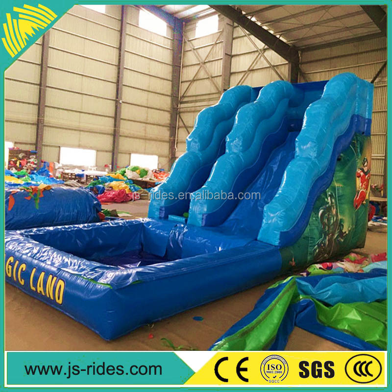 commercial large cheap giant airtech inflatable water slip n slide