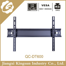 Factory sell lcd led tv wall mount tv rack suit for 40inch to 62inch tvs