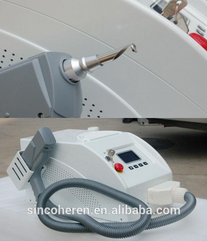 1064 532nm nd yag laser colorant puls laser pour vasculaire tattoo removal et le rajeunissement de la peau image appareils de beaut laser id de - Laser Colorant Puls
