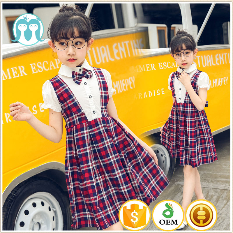2017 primary school uniform philippines Fashion Scotland Plaid skirt girls school uniforms dress international school uniform
