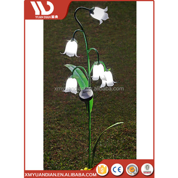 New Products On China Market Led Garden Flower Light Housing