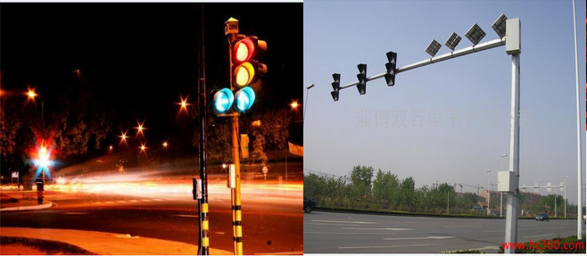 LED traffic control signal light