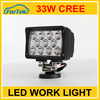 super bright 33W wholesale led work light 100%waterproof factory price