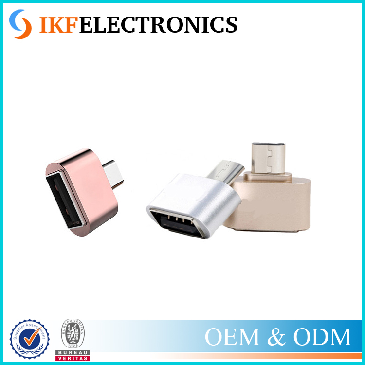 Fun Mini Micro USB OTG Converter Camera Tablet MP3 OTG Adapter for Sony Samsung Galaxy S3 S4 LG OTG Cable