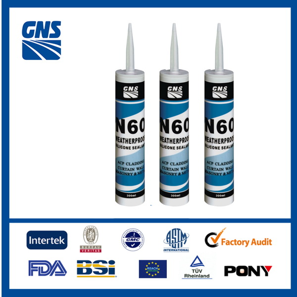 non-slumping aluminum glass adhesives