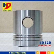 Diesel Engine Piston For 4D120 With OEM Number 6110-33-2132