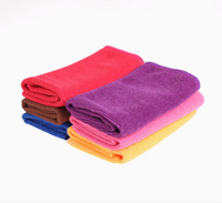 microfiber towel for car Feel is smooth soft and strong practicability Car Clean Cloth