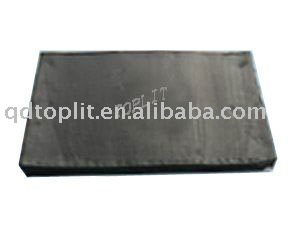Recycled Rubber / Black reclaimed rubber sheet / Recycled tire rubber sheet