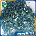 Wholesale dark blue tempered fireplace pit glass chips