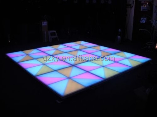 IP 65 waterproof 1m*1m*0.1m acrylic outdoor led light tile for sale