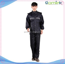 GMK-188 Reflective water proof breathable PVC rain suits FOR Army /police