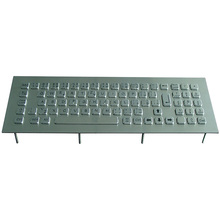 USB 79 keys compact format stainless steel mechanical keyboard