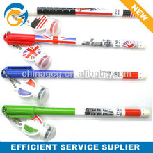 2013 Hot Selling Flag Stamp Ball Pen