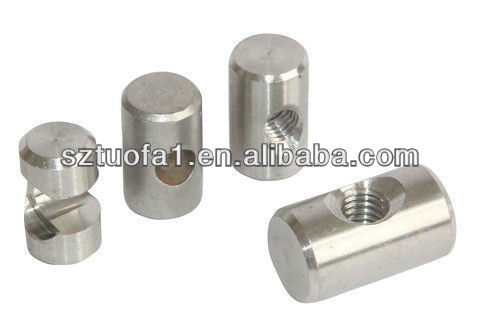precision cnc aluminum bullet button cnc machining
