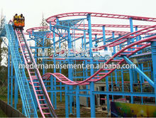 Amusement park rides cheap used small roller coaster for sale