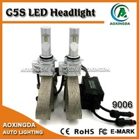 12V 24V 4000 lumen high brightness 9006 HB4 led lights for car headlight