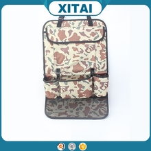 58*36cm camouflage color multipurpose car seat back organizer with best quality