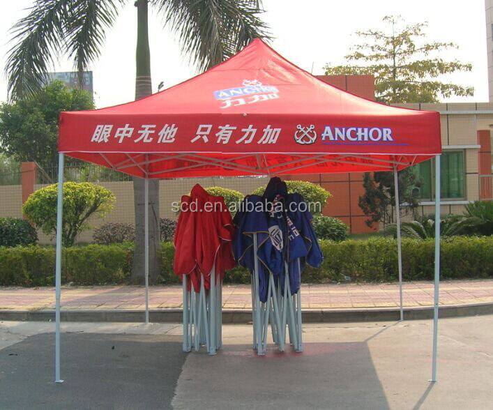 Silk screen printing advertising folding canopy tent