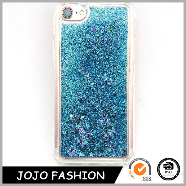 Sky blue cell phone case plastic cell phone cover