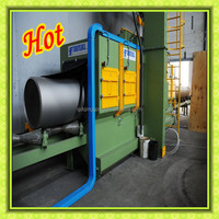 Internal Pipe Cleaner / Shot Blasting Machine Surface Polishing